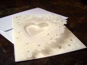 Texte de Faire-Part pour Mariage Romantique